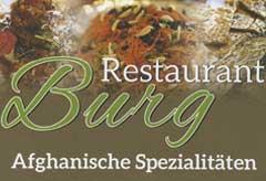Restaurant Burg – Afghanische Speisen